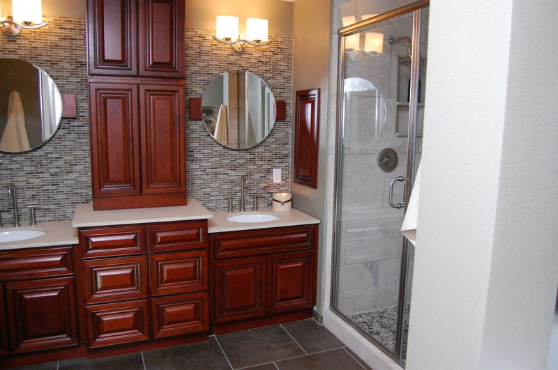 Contemporary Bathroom Vanity Cabinet Exterior