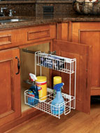 Side Mount, Pull-Out Wire Organizers