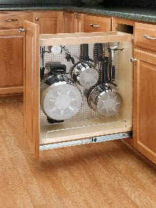 Pull Out Base Organizer With Stainless Steel Panel 12 Base Cabinet Rta Cabinet Store