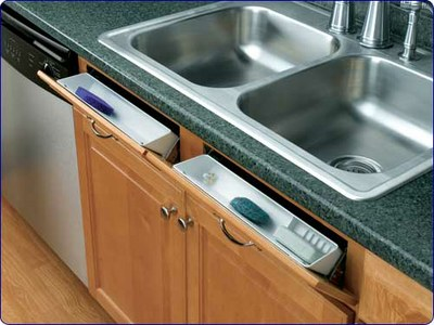 Sink Base Tip Out Trays