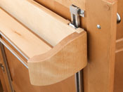 Wood Door Storage Trays