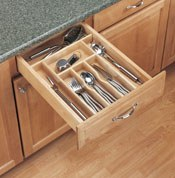 Wooden Cutlery & Utility Tray Inserts