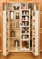 Wood Swing-Out Full Size Pantry Unit