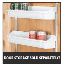 D Shaped Polymer Pantry Cabinet Shelves Rta Cabinet Store