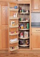 Polymer Pantry Cabinet Shelves