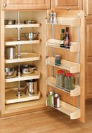 Wood D-Shaped Pantry Sets