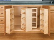 Wood Swing-Out Pantry