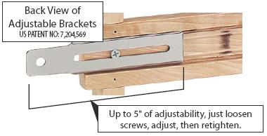 Spice Rack Mounting Brackets