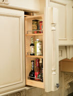 Pull-Out Wall Filler Storage Unit