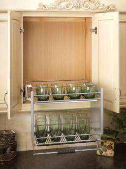 36 Cabinet Pull Down Shelving System Rta Cabinet Store
