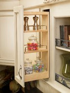 Wall Cabinet Pull-Out Shelving System
