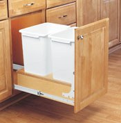 Bottom Mount Pull-Out Waste Containers