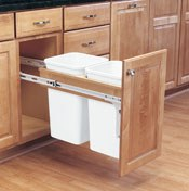 Top Mount Pull-Out Waste Containers