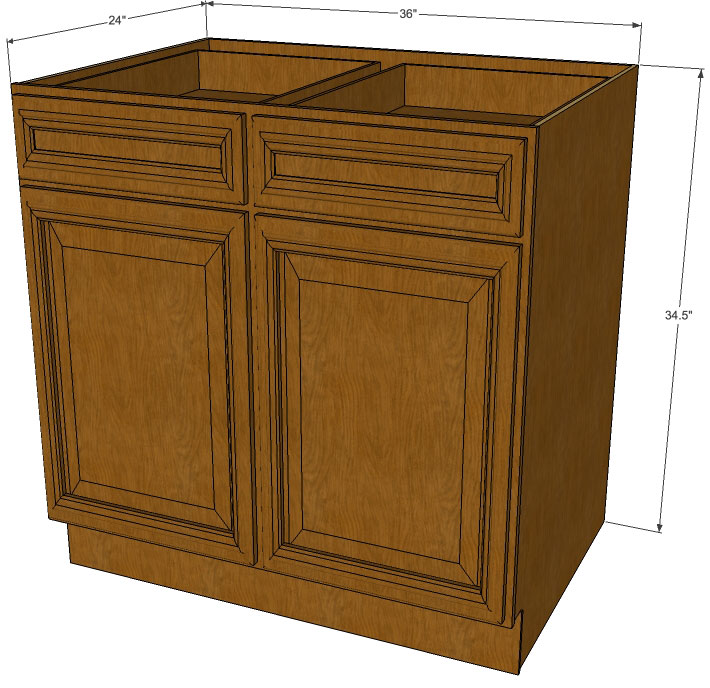 rustic brown kitchen cabinets rta cabinet store RTA Cabinet Store High Gloss Cabinets Modern Kitchen