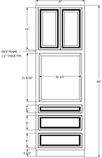 Cherryville Oven RTA Cabinets - RTA Cabinet Store