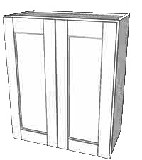 York Ave Double Door Wall Cabinet