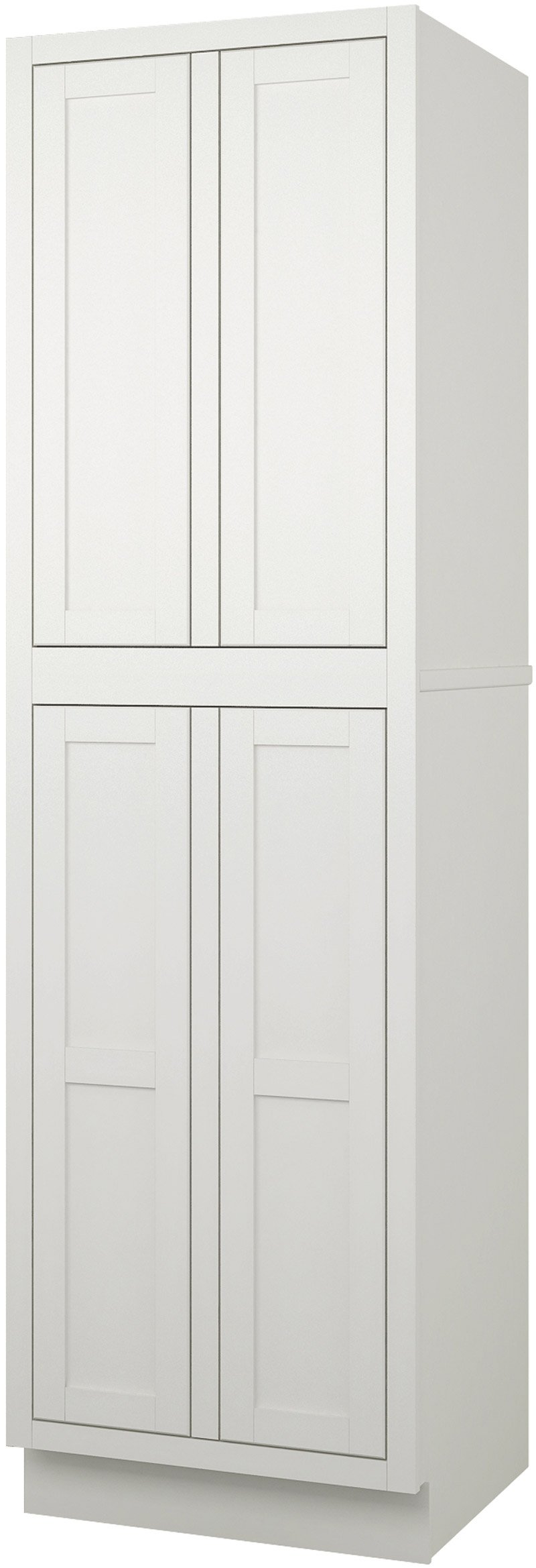 cabinet tall image unfinished pantry white kitchen ideas literarywondrous lowes