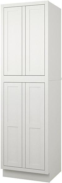 Adirondack White Pantry Cabinets RTA Kitchen Cabinets