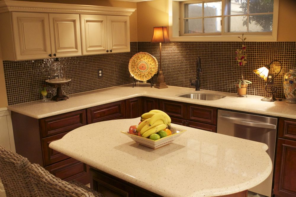 Brandywine and tuscany cabinets featured on tv show rta for Brandywine kitchen cabinets