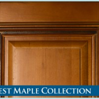 Harvest Maple Cabinet Collection