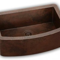 Apron Sink Made of Copper