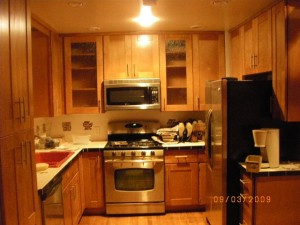 The ugliest kitchen i have ever seen rta kitchen cabinets for Autumn shaker kitchen cabinets