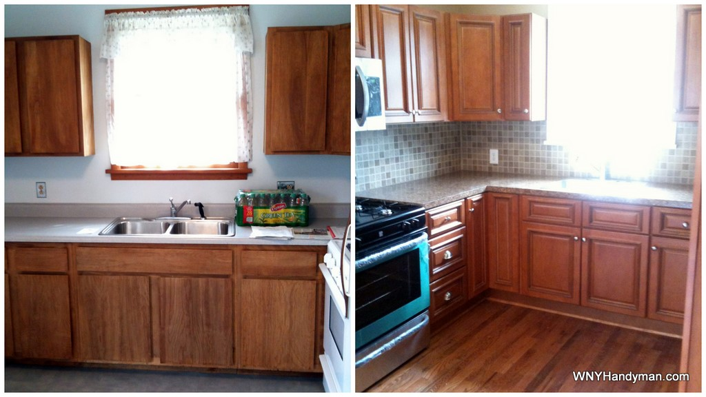 Brandywine kitchen cabinets before and after rta for Brandywine kitchen cabinets