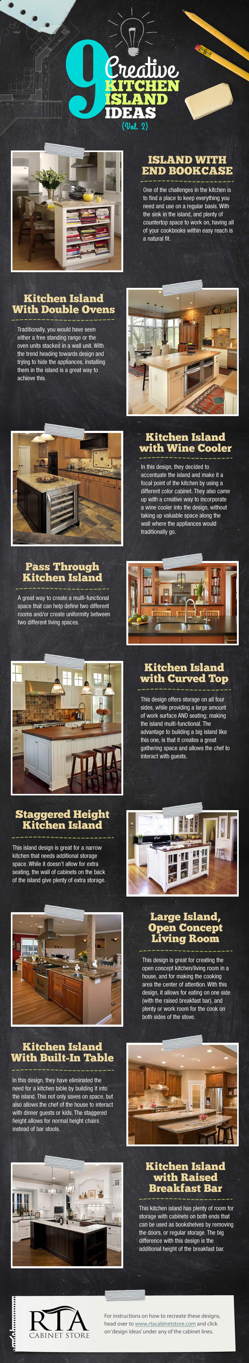 Kitchen Island Designs: Part 2 » RTA Kitchen Cabinets