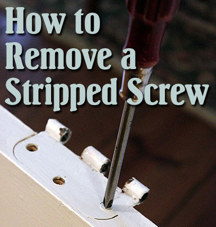 how to remove stripped screws rta kitchen cabinets. Black Bedroom Furniture Sets. Home Design Ideas