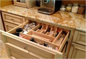 Utility drawer organizer