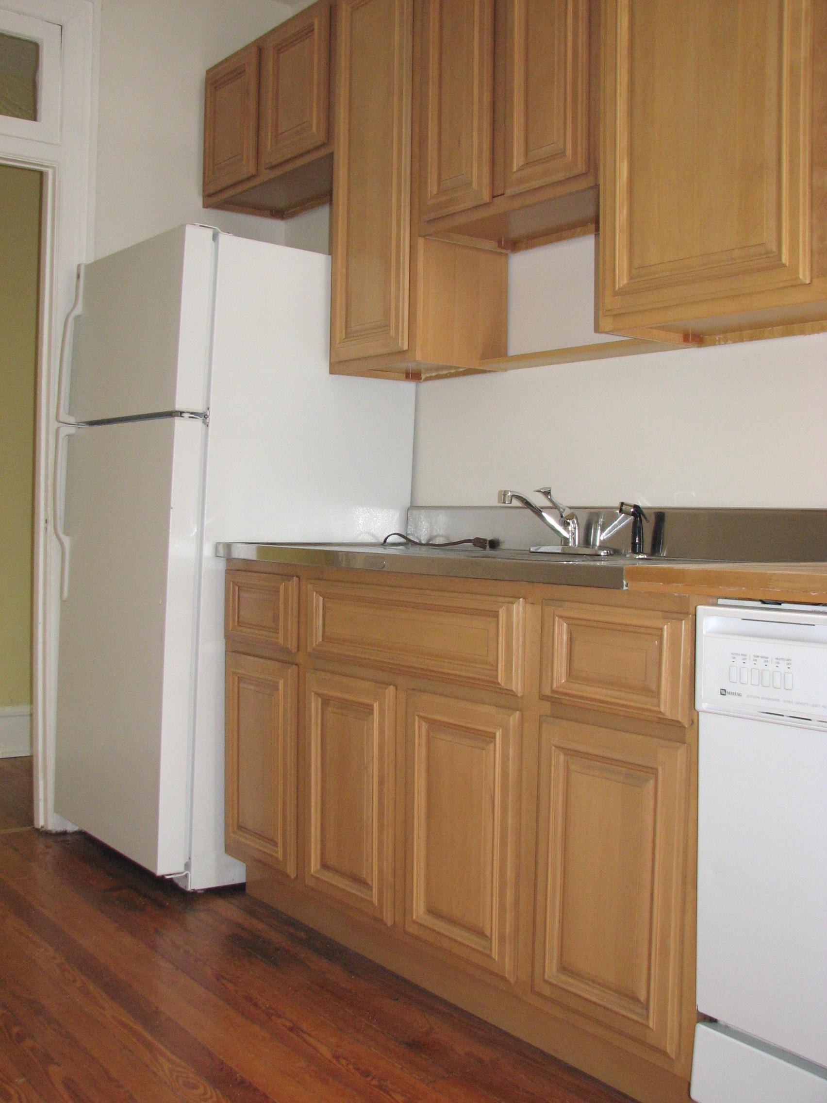 Honey Maple Kitchen Cabinet