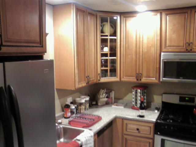 using the Marquis Cinnamon Kitchen Cabinets  RTA Kitchen Cabinets