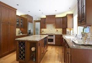 Kitchen Wine Rack Cabinet