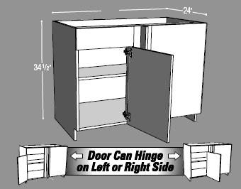 Diagonal Corner Cabinet or Blind Base Cabinet?