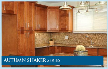 ... Autumn Shaker Kitchen Cabinets Series